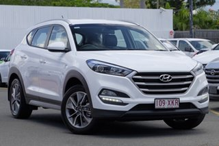 2018 Hyundai Tucson TL MY18 Active X 2WD Pure White 6 Speed Sports Automatic Wagon.