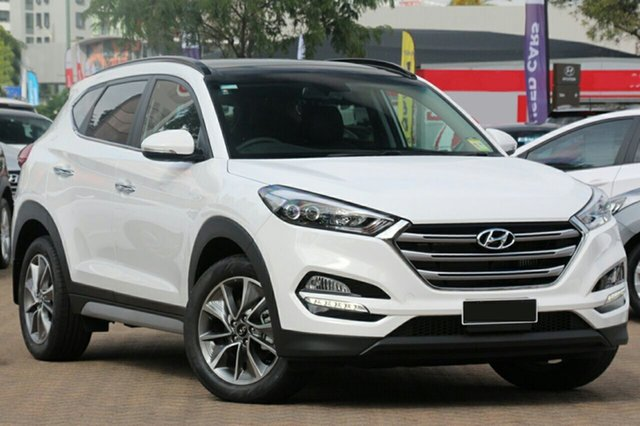 Demo Hyundai Tucson TL2 MY18 Elite 2WD Albion, 2018 Hyundai Tucson TL2 MY18 Elite 2WD Pure White 6 Speed Sports Automatic Wagon