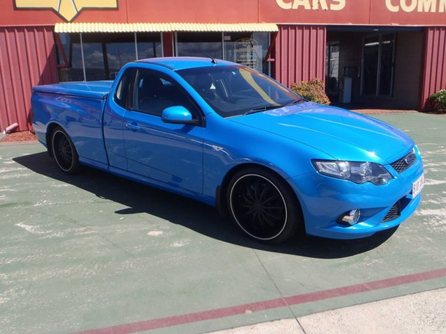 Used Ford Falcon FG XR8 Ute Super Cab, 2009 Ford Falcon FG XR8 Ute Super Cab Blue 6 Speed Manual Utility