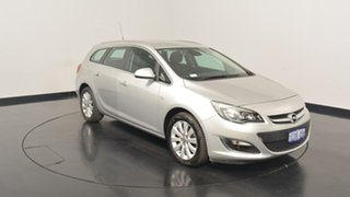 2013 Opel Astra AS Select Sports Tourer Silver 6 Speed Sports Automatic Wagon.