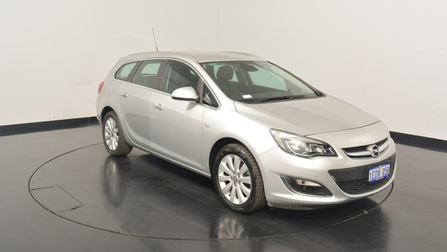 Used Opel Astra AS Select Sports Tourer, 2013 Opel Astra AS Select Sports Tourer Silver 6 Speed Sports Automatic Wagon