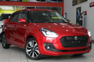 2017 Suzuki Swift AZ GLX Turbo Burn Red 6 Speed Sports Automatic Hatchback.