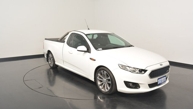 Used Ford Falcon FG X XR6 Ute Super Cab, 2015 Ford Falcon FG X XR6 Ute Super Cab White 6 Speed Manual Utility