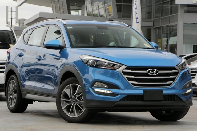 Demo Hyundai Tucson TL MY18 Active X 2WD Albion, 2017 Hyundai Tucson TL MY18 Active X 2WD Ara Blue 6 Speed Sports Automatic Wagon