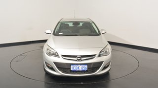 2013 Opel Astra AS Select Sports Tourer Silver 6 Speed Sports Automatic Wagon