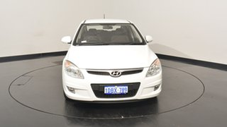 2009 Hyundai i30 FD MY09 SLX White 5 Speed Manual Hatchback
