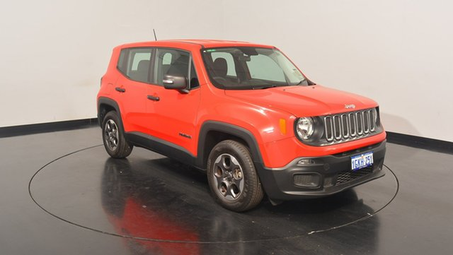 Used Jeep Renegade BU MY17 Sport, 2017 Jeep Renegade BU MY17 Sport Colorado Red 5 Speed Manual Hatchback