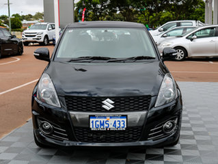 2015 Suzuki Swift FZ MY15 Sport Black/Grey 6 Speed Manual Hatchback.