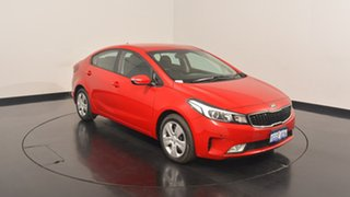 2017 Kia Cerato YD MY17 S Temptation Red 6 Speed Sports Automatic Hatchback.