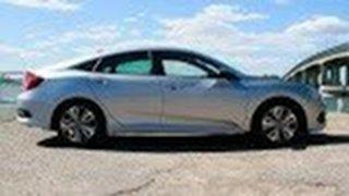 2017 Honda Civic 10th Gen MY17 VTI-LX Lunar Silver 1 Speed Constant Variable Sedan