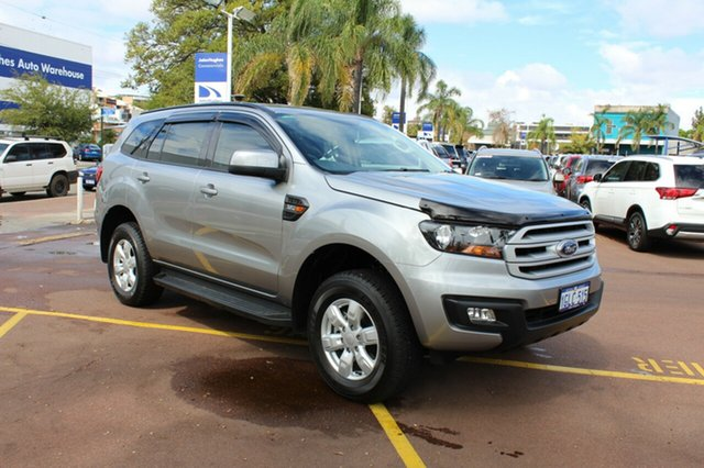 Used Ford Everest UA Ambiente 4WD, 2017 Ford Everest UA Ambiente 4WD Aluminium 6 Speed Sports Automatic Wagon