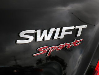 2015 Suzuki Swift FZ MY15 Sport Black/Grey 6 Speed Manual Hatchback