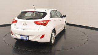 2014 Hyundai i30 GD2 MY14 Trophy White 6 Speed Sports Automatic Hatchback