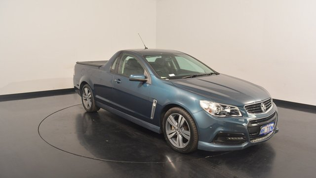 Used Holden Ute VF MY15 SV6 Ute, 2014 Holden Ute VF MY15 SV6 Ute Green 6 Speed Sports Automatic Utility