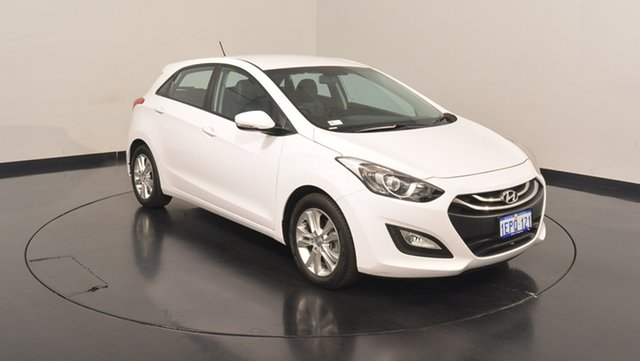 Used Hyundai i30 GD2 MY14 Trophy, 2014 Hyundai i30 GD2 MY14 Trophy White 6 Speed Sports Automatic Hatchback