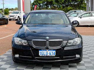 2008 BMW 335i E90 MY08 Steptronic Black 6 Speed Sports Automatic Sedan.