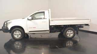 2016 Holden Colorado RG MY16 LS White 6 Speed Manual Cab Chassis.