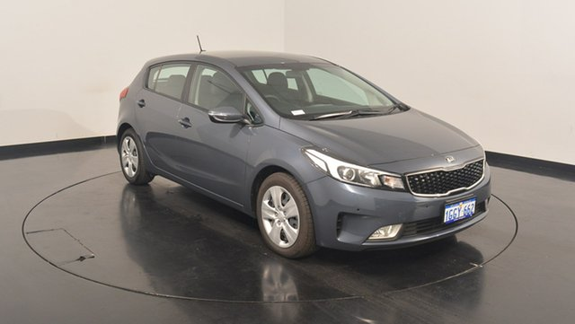 Used Kia Cerato YD MY17 S, 2017 Kia Cerato YD MY17 S Planet Blue 6 Speed Sports Automatic Hatchback