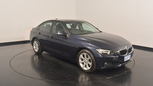 Used BMW 320i F30 MY0813 , 2013 BMW 320i F30 MY0813 Navy Blue 8 Speed Sports Automatic Sedan