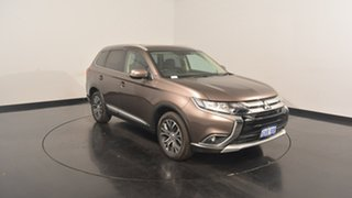 2017 Mitsubishi Outlander ZK MY17 LS 4WD Ironbark 6 Speed Constant Variable Wagon.