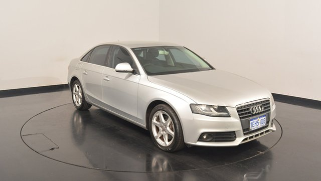 Used Audi A4 B8 8K Multitronic, 2009 Audi A4 B8 8K Multitronic Silver 8 Speed Constant Variable Sedan