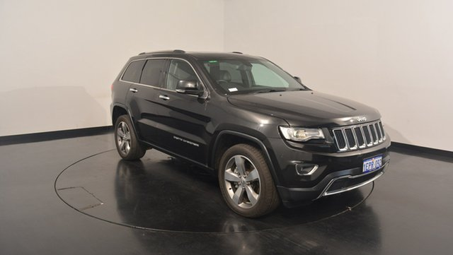 Used Jeep Grand Cherokee WK MY15 Limited, 2014 Jeep Grand Cherokee WK MY15 Limited Black 8 Speed Sports Automatic Wagon