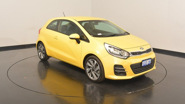 Used Kia Rio UB MY16 Sport, 2016 Kia Rio UB MY16 Sport Digital Yellow 6 Speed Sports Automatic Hatchback
