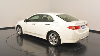2012 Honda Accord Euro CU MY13 Luxury White 5 Speed Automatic Sedan.