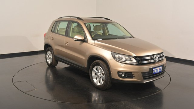 Used Volkswagen Tiguan 5N MY13 132TSI 4MOTION Pacific, 2012 Volkswagen Tiguan 5N MY13 132TSI 4MOTION Pacific Titanium Beige 6 Speed Manual Wagon