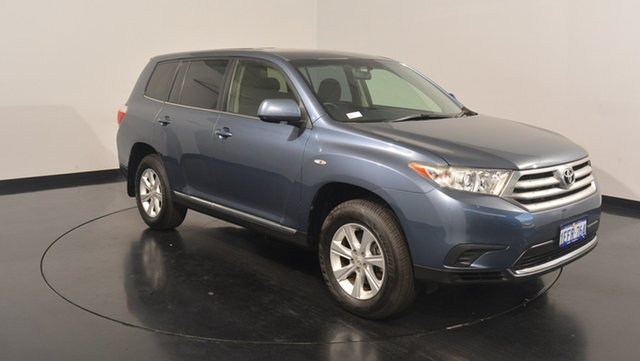 Used Toyota Kluger GSU40R MY12 KX-R 2WD, 2013 Toyota Kluger GSU40R MY12 KX-R 2WD Blue 5 Speed Sports Automatic Wagon