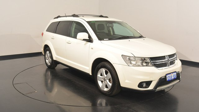 Used Dodge Journey JC MY12 SXT, 2011 Dodge Journey JC MY12 SXT White 6 Speed Automatic Wagon