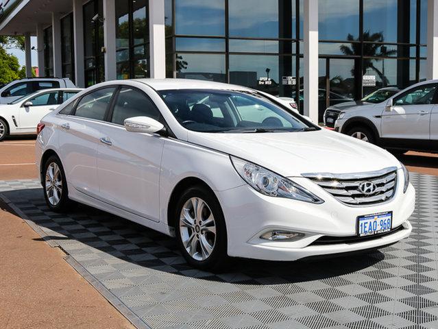 Used Hyundai i45 YF MY11 Elite, 2012 Hyundai i45 YF MY11 Elite White 6 Speed Sports Automatic Sedan
