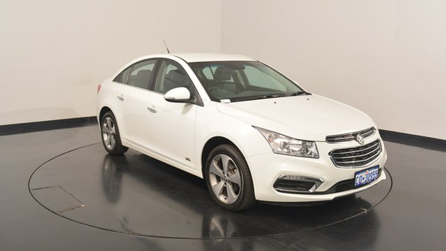 Used Holden Cruze JH Series II MY16 Z-Series, 2016 Holden Cruze JH Series II MY16 Z-Series White 6 Speed Sports Automatic Sedan