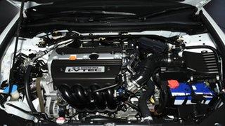 2012 Honda Accord Euro CU MY13 Luxury White 5 Speed Automatic Sedan
