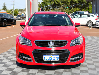 2014 Holden Ute VF MY14 SS V Ute Redline Red 6 Speed Sports Automatic Utility.