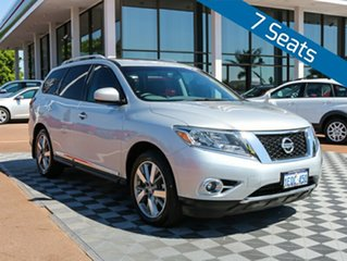 2015 Nissan Pathfinder R52 MY15 Ti X-tronic 2WD Silver 1 Speed Constant Variable Wagon.