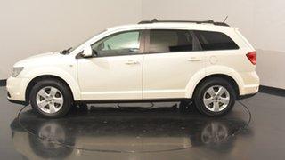2011 Dodge Journey JC MY12 SXT White 6 Speed Automatic Wagon.