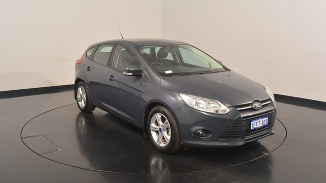 Used Ford Focus LW MKII Trend PwrShift, 2013 Ford Focus LW MKII Trend PwrShift Midnight Sky 6 Speed Sports Automatic Dual Clutch Hatchback