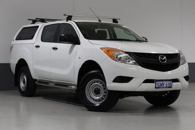 Used Mazda BT-50 MY13 XT (4x4), 2014 Mazda BT-50 MY13 XT (4x4) White 6 Speed Automatic Dual Cab Utility