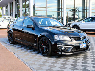 2010 Holden Special Vehicles Clubsport E Series 3 R8 Black/Grey 6 Speed Manual Sedan.