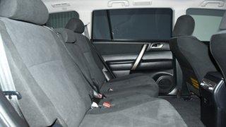 2013 Toyota Kluger GSU40R MY12 KX-R 2WD Blue 5 Speed Sports Automatic Wagon