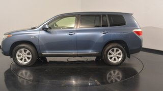 2013 Toyota Kluger GSU40R MY12 KX-R 2WD Blue 5 Speed Sports Automatic Wagon.