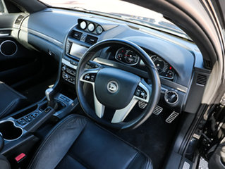 2010 Holden Special Vehicles Clubsport E Series 3 R8 Black/Grey 6 Speed Manual Sedan