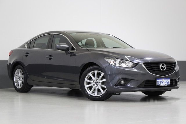Used Mazda 6 6C MY14 Upgrade Sport, 2014 Mazda 6 6C MY14 Upgrade Sport Grey 6 Speed Automatic Sedan