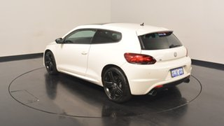 2012 Volkswagen Scirocco 1S MY13 R Coupe DSG White 6 Speed Sports Automatic Dual Clutch Hatchback.