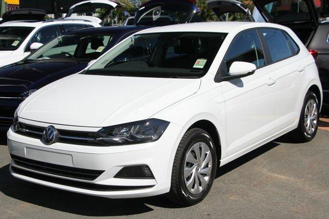 New Volkswagen Polo AW MY18 70TSI DSG Trendline, 2018 Volkswagen Polo AW MY18 70TSI DSG Trendline Pure White 7 Speed Sports Automatic Dual Clutch