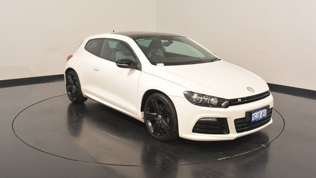Used Volkswagen Scirocco 1S MY13 R Coupe DSG, 2012 Volkswagen Scirocco 1S MY13 R Coupe DSG White 6 Speed Sports Automatic Dual Clutch Hatchback