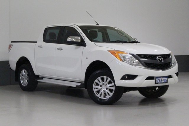 Used Mazda BT-50 MY13 GT (4x4), 2013 Mazda BT-50 MY13 GT (4x4) White 6 Speed Automatic Dual Cab Utility