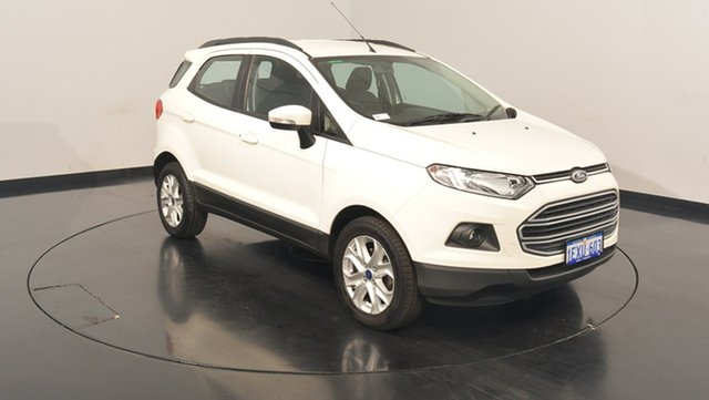 Used Ford Ecosport BK Trend PwrShift, 2015 Ford Ecosport BK Trend PwrShift Diamond White 6 Speed Sports Automatic Dual Clutch Wagon