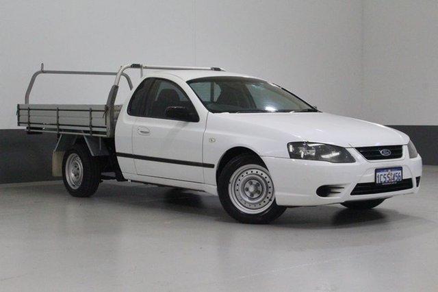 Used Ford Falcon BF MkII XL (LPG), 2007 Ford Falcon BF MkII XL (LPG) White 4 Speed Auto Seq Sportshift Cab Chassis